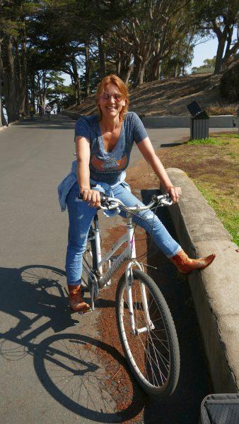 Sonjas neues Zweirad
